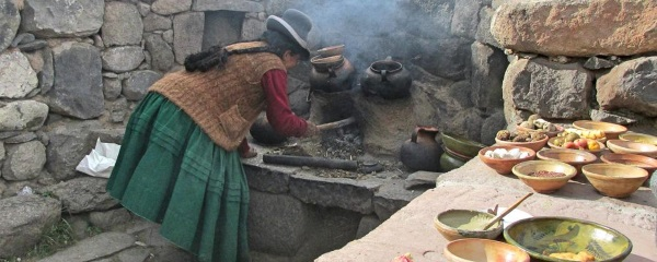 Clay-eaters of Peru