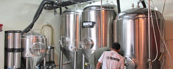 Zenith brewery in Cusco